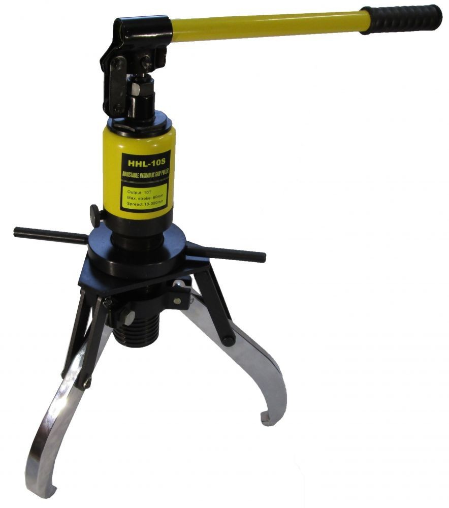 Big Gear Pullers : Hydraulic gear puller with holding nut tons ez