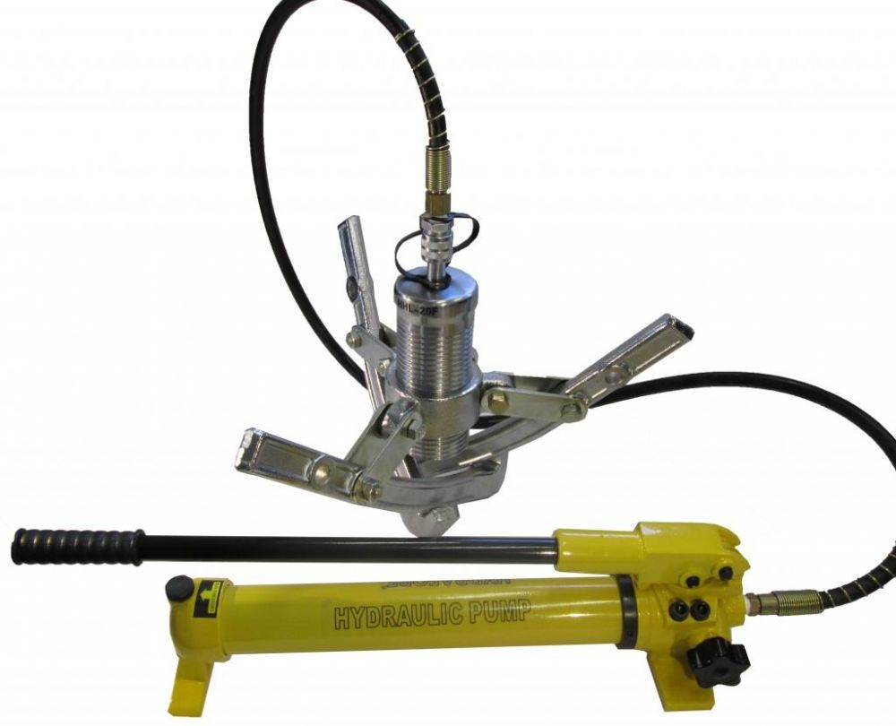 Big Gear Pullers : Hydraulic gear puller with separable pump tons ez